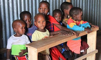 Kinder im Smart Nursery
